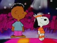 Snoopy&franklin