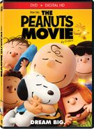 The Peanuts Movie DVD