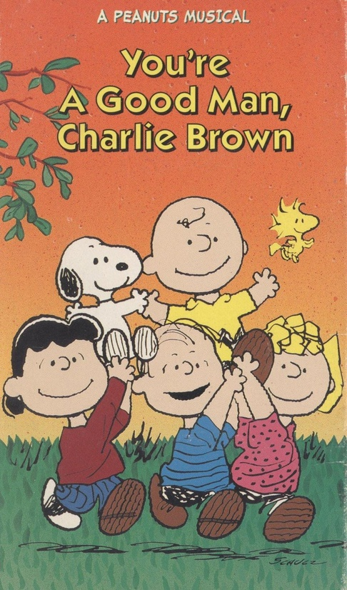youreagoodmancharliebrownvhs2jpg - Charlie Brown Valentine Video