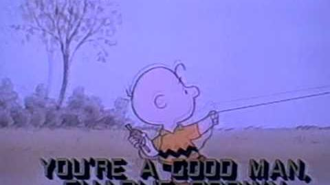 "November 1985 CBS ""You're A Good Man, Charlie Brown"" animated TV special promo (10 seconds)"