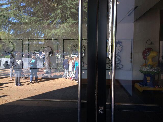 File:Charles M. Schulz Museum front door.jpg