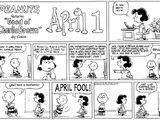 April 1973 comic strips