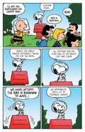 Peanuts World Famous Astronaut Comic Strip