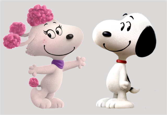 File:Snoopy and Fifi in love.png