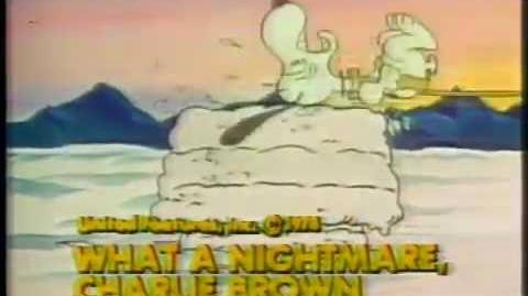 What A Nightmare Charlie Brown & A Connecticut Rabbit In King Arthur's Court 1978 CBS Promo