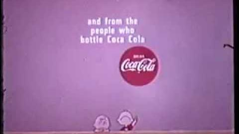 It's the Great Pumpkin Charlie Brown 1966 sponsor end credits