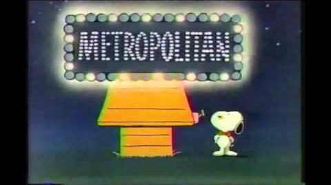 Snoopy, Linus, Charlie Brown - Metropolitan Life Commercial