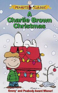 Charlie Brown Christmas VHS 1996