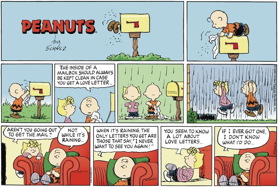 February 2000 comic strips | Peanuts Wiki | FANDOM powered ...