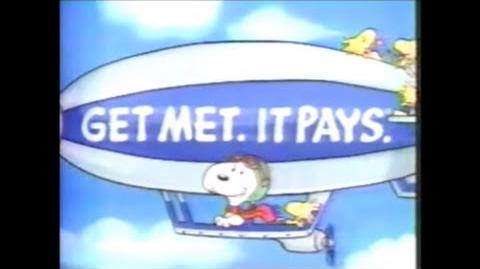 """1990'S Commercial MetLife Insurance """"Get Met. It Pays."""""""