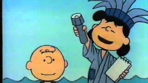Peanuts 1985 Keep The Torch Lit PSA-0