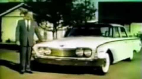 1960 Ford Commercial With Charlie Brown and Lucy