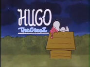 Hugo great neon sign