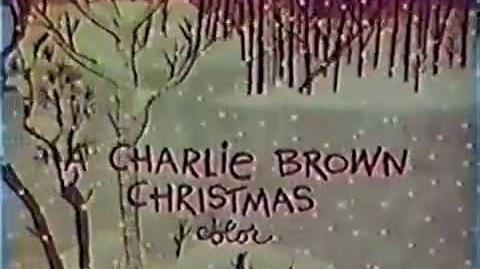 CBS A Charlie Brown Christmas 1965 TV promo