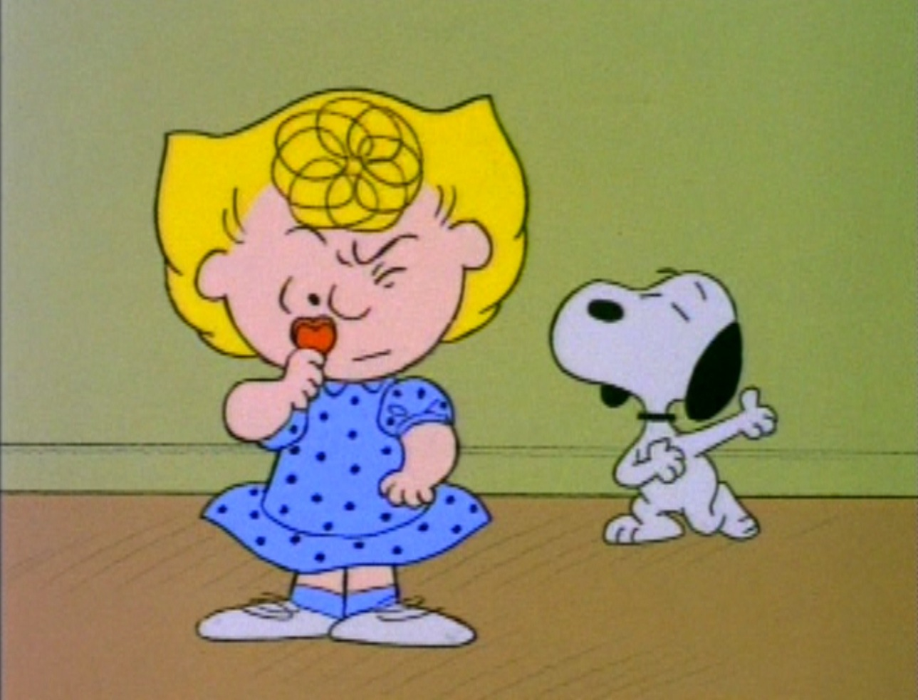 Sally Peanuts Character