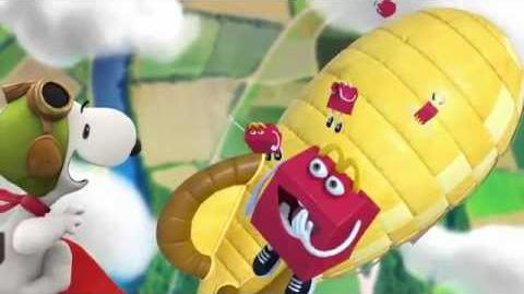 The Peanuts Movie Global Happy Meal Commercial McDonald's