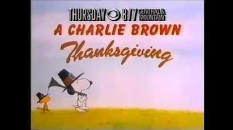 A Charlie Brown Thanksgiving Promo 1989