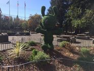 Snoopy topiary