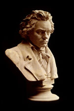 Beethoven bust statue by Hagen