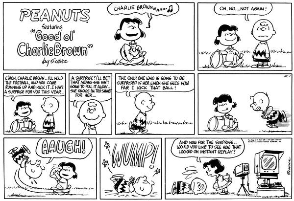 October 1967 Comic Strips Peanuts Wiki Fandom Powered