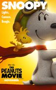 The Peanuts Movie Snoopy and Woodstock poster