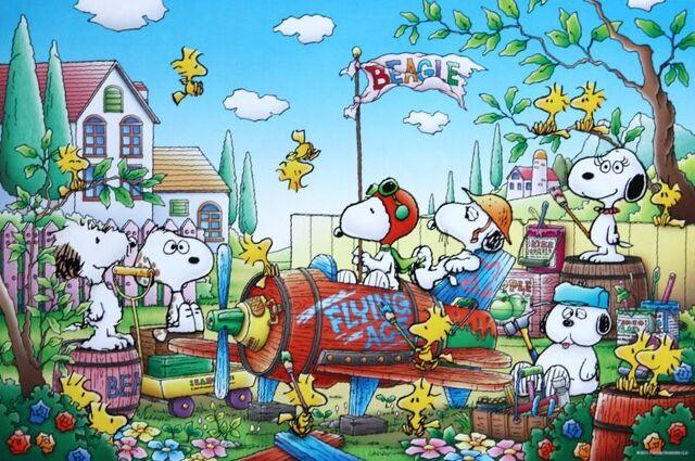 File:Snoopy's siblings in color.jpg
