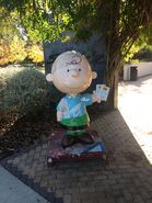 Charles M. Schulz Museum Charlie Brown statue front 01