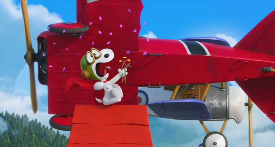 Snoopy Red Baron Plane