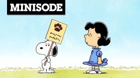 Peanuts Minisode Dog Week Cartoon Network