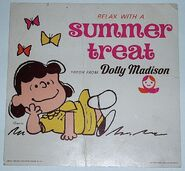 Peanuts lucy dolly madison sign