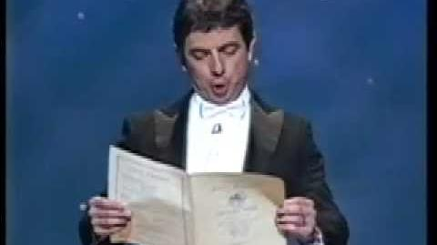 Rowan Atkinson sings Ode to Joy