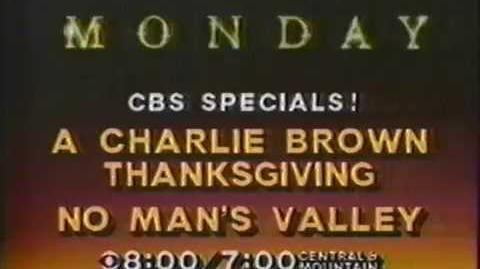 1981 CBS Charlie Brown Thanksgiving Promo with Rick Dees