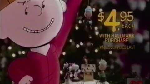 Peanuts @ Hallmark Television Commercial 2000 Holidays-0