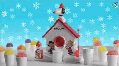 Snoopy Sno-Cone Machine Commercial 2015 Get Your Freeze On