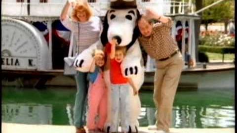 Knott's Berry Farm Camp Snoopy Tease 30 sec KM TV 83 101 5 24 83 DJMC Red Car QuickTime H 264