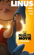 The Peanuts Movie Linus van Pelt poster