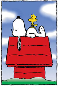 Snoopy doghouse-1-