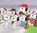 Snoopy's siblings