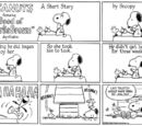 August 1982 comic strips
