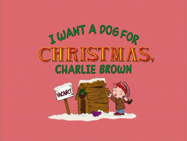 I Want A Dog For Christmas Charlie Brown.I Want A Dog For Christmas Charlie Brown Peanuts Wiki