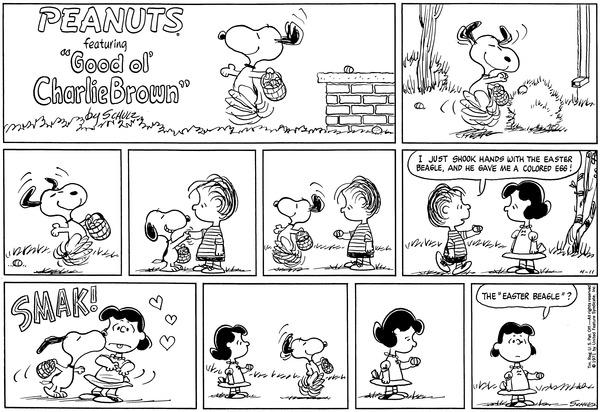 April 1971 Comic Strips Peanuts Wiki Fandom Powered By Wikia