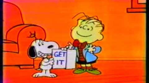 Snoopy and Linus for Metropolitan Life - 1986 ad