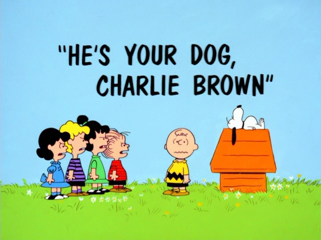 File:He's Your Dog, Charlie Brown.JPG