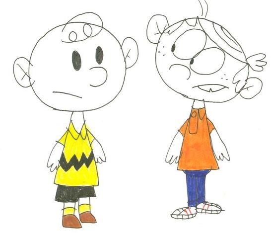 File:Charlie Brown & Lincoln Loud.jpg