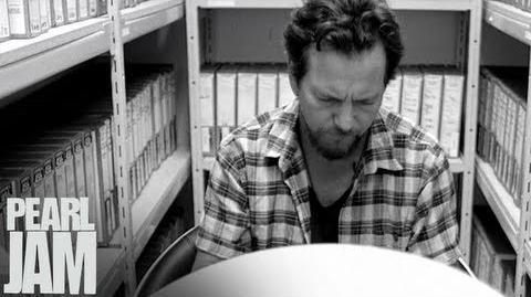 """Eddie Vedder - """"Mind Your Manners"""" (Vignette 2) - Lightning Bolt - Pearl Jam"""