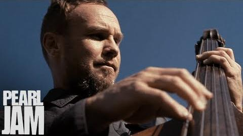 Jeff Ament Playing Upright Bass (Vignette) - Lightning Bolt - Pearl Jam