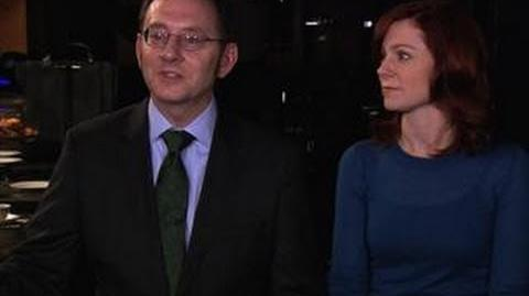 Person of Interest - Behind the Scenes with Michael Emerson and Carrie Preston