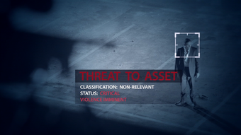 S01 Title Sequence Threat to Asset