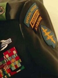 John's uniform