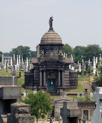 Johnston Tomb, Calvary Cemetery